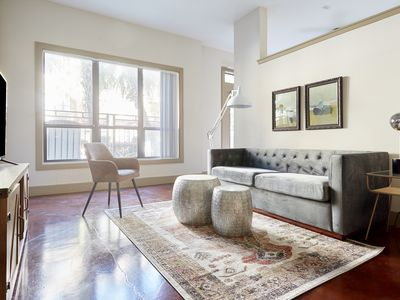 Photo for Sonder | Ballpark Lofts | Charming 1BR + Pool