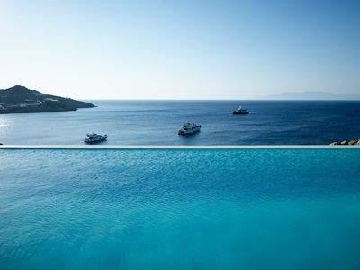 Photo for Villa Paradise Bay. One of the Biggest Luxury Properties in Mykonos. Private Pools, 16 Bedrooms 16 Bathrooms up to 34 Guests