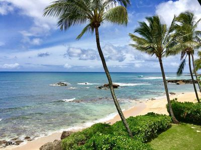 Honu Pacific Surf- Stunning Oceanfront North Shore Home!