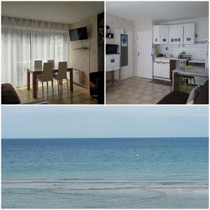 Photo for T2 for 2/4 pers 31m ² 300ms from the beach and shops + private parking