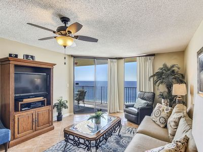 Photo for Beach Front Condo w/Private Balcony | Splash Pad! | My Beach Getaways