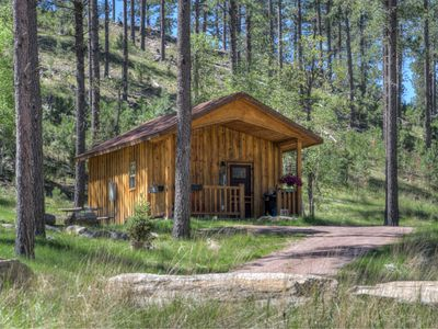 Photo for Custom Black Hills Cabin - minutes to Mt Rushmore, mountain setting, 10 acres