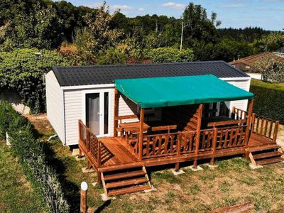 Photo for Camping des bondons * - 2-room mobile home 2 people