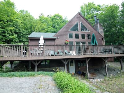 Photo for Killenkere Chalet in Lake Placid-Wooded Privacy & Quiet-sleeps 14