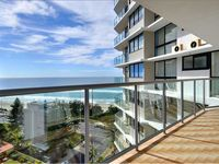 Perfect location in Surfers Paradise. The beach and tram stop a minutes walk away, and bars,