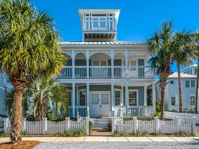 Photo for 4 Bedroom / 3 Bath Beach House - Just Steps from Carillon Beach
