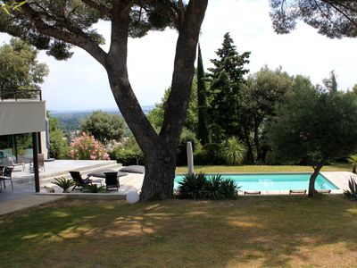 Photo for VILLA 180M2 BEAUTIFUL VIEW - SWIMMING POOL SECURED BY AN ELECTRICAL COMPONENT - TRAMPOLINE