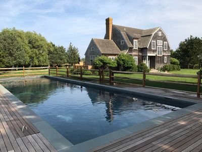 Photo for Magical Spot in Sagaponack,SOH - Heated 16' x 54' pool, Views, Secluded