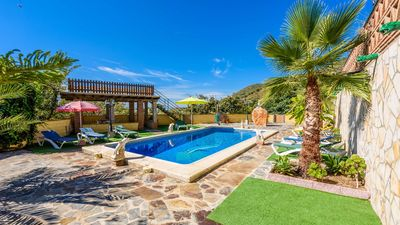 Photo for Andalusian-style villa with wide terrace in the Axarquia