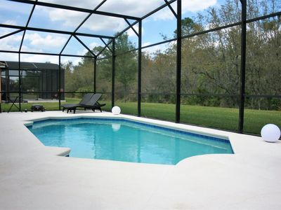 Photo for Luxurious 5 Bedroom 4 Bath Private Pool Home with Game Room