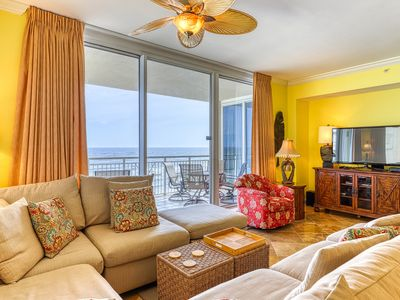 Photo for 8th Floor Bright, Updated Condo w/ Gulf Front Views, Quick Walk To Dining