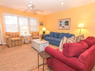 Photo for Real Escapes Properties proudly offers this town home steps from the beach!