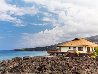 Photo for AS SEEN ON HGTV BEACH HUNTERS! Oceanfront, Amazing Whale Watching and Snorkeling