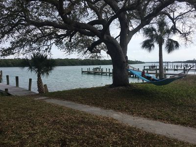 Photo for Apartment with private dock on Lemon Bay**New Central A/C