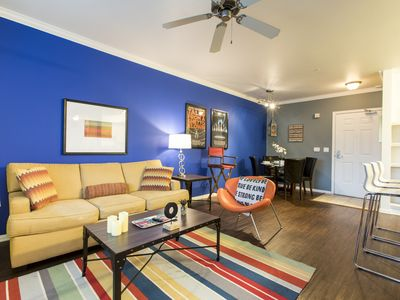 Photo for LOVELY 2BR/2BA APARTMENT- STEPS FROM WALK OF FAME!