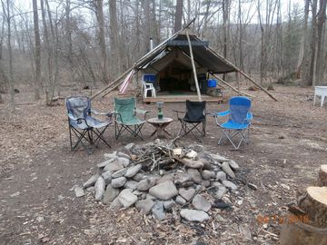 KOOL OUT & CHILL DOWN Private Wilderness Camp on the Esopus