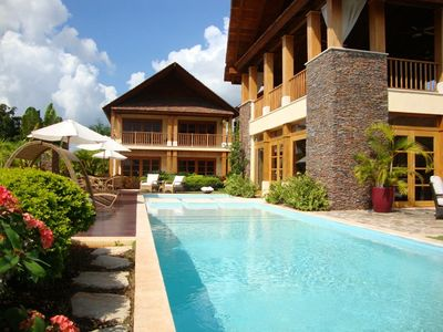 Photo for Tropical Balinese Villa, Infinity Pool, Full Staff incl. Cook & Waiter, AC, Free Wifi
