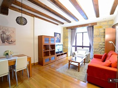 Photo for 1BR Apartment Vacation Rental in San Sebastian