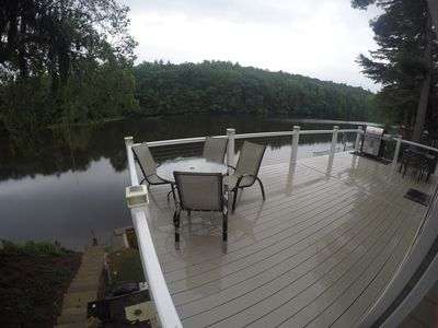 Photo for New, 3 Bed, 2 bath, Waterfront Home On Private (dead-end) Road. SNOW SKI