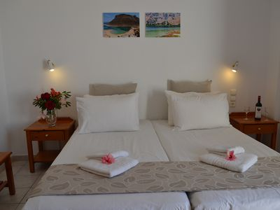 Photo for Melina's house-1 Bedroom Apartment Close To Beach, Kato Stalos-Chania-West Crete