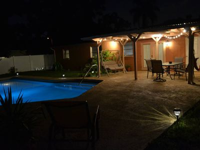 Photo for Cozy, Rustic Pool Home Away From Home Near Tampa Int'l Airport