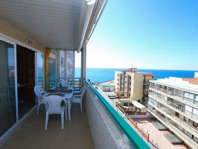 Photo for 126 - PARADIS 1. Two bedroom apartment with sea views and pool