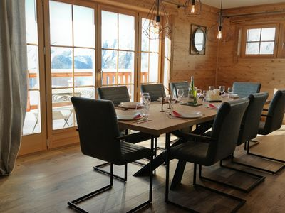 Photo for New in 2019! Exceptional chalet Alpe d'Huez-Villard Reculas. Ski in ski out
