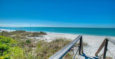 Beach ☼ Front Condo with Sunset Views from your Balcony - in Holmes Beach