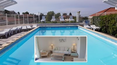 Photo for FRENCH RIVIERA: APARTMENT DOUILLET WITH SWIMMING POOL CLOSE TO THE SEA