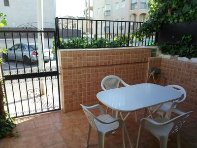Photo for Townhouse 100 meters from the beach with internet.
