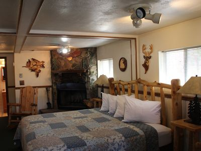 Photo for Cozy Cabin for 2 near Big Thompson River; 1 mile to Rocky Mt NP & downtown Estes
