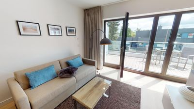 Photo for Luxury apartment in a prime location with sauna and balcony