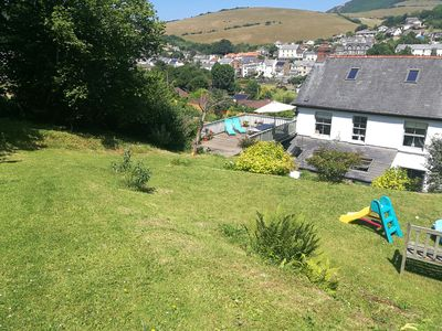 Photo for Wonderful house fabulous views near beach large garden parking sleeps 8 +cot.