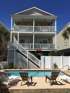Photo for LOCATION NEAR PIER- 5 Bedrooms- Ocean Views- Pool & Hot Tub