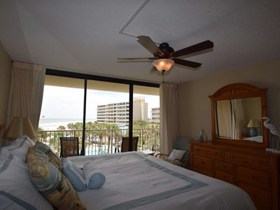 Photo for Newly Renovated! Convenient 3rd Floor Location, Gulf Views, Free Wifi, Dunes of Panama - Building C