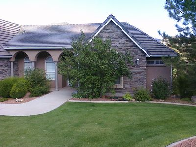 Photo for Comfortable Home on the 17th hole of Cedar Ridge Golf Course