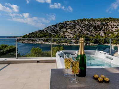 Photo for Luxury Villa Tatjana, in Dalmatia, with a Sea view