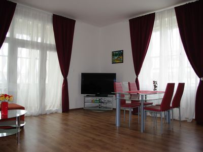 Photo for Spacious Prague view apartment 106 sqm