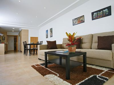 Photo for CAN GAUDI - Fabulous apartament with stunning views to the Med