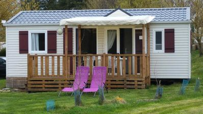 Photo for Camping les Calquieres **** - PREMIUM Happy Mobile Home 3 rooms 4/5 people