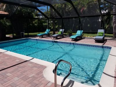 Photo for Wonderful Home with Pool & Garden,short drive, bike or walk to beach!!