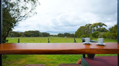 Breakfast on your private deck