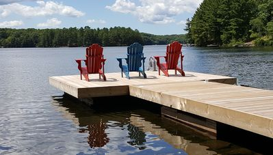 Photo for Muskoka Family Cottage On Crystal Clear High Lake
