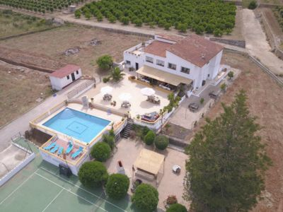 Photo for villa Tranquilo in an orange valley