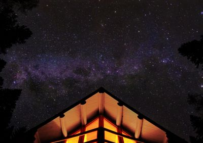 Milky Way from Astrid Cabin