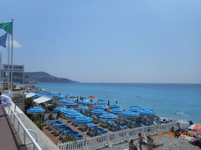 Photo for Small equipped quiet studio, downtown Nice 328 feet from sea and pedestrian road