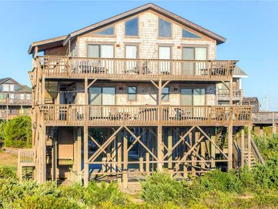 Photo for Exceptional Oceanfront Views, Avon w/ Elevator, Hot Tub, WiFi, Easy Beach Access
