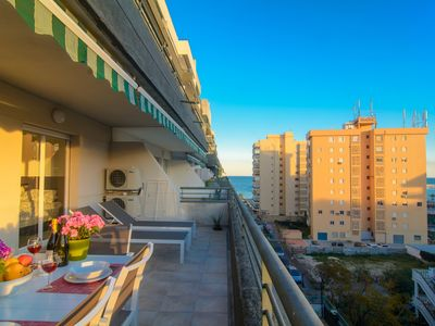 Photo for River Playa 2 bedroom apartment, beach view, large terrace