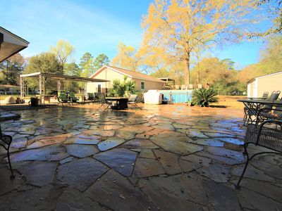 Photo for 2+acre Party&Event Resort-Pool/BBQ/FirePit/Soccer/volleyball-SPRING RANCH!