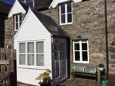 Photo for Lovely, peaceful, cottage with garden. Secluded but minutes from town centre.